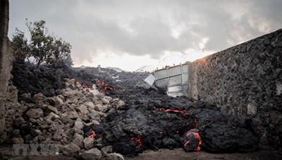 Hơn 100 dư chấn mạnh khi núi lửa Nyiragongo phun trào