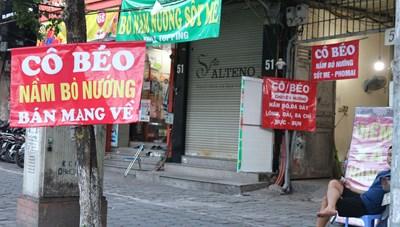 Hà Nội: Hàng quán đóng cửa phòng dịch, chủ kinh doanh bỏ phố về quê