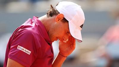 Roland Garros 2021: Dominic Thiem thua sốc ngay trong ngày ra quân