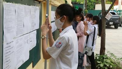 Hà Nội thăm dò ý kiến giảm thời gian làm bài thi vào lớp 10
