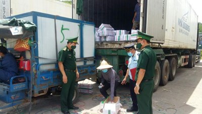 Quảng Ninh: Kim ngạch xuất nhập khẩu qua cửa khẩu Bắc Phong Sinh đạt 10,6 triệu USD