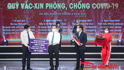 BẢN TIN MẶT TRẬN: Hà Nội góp 1.000 tỷ đồng mua vaccine Covid-19 tiêm cho dân Thủ đô