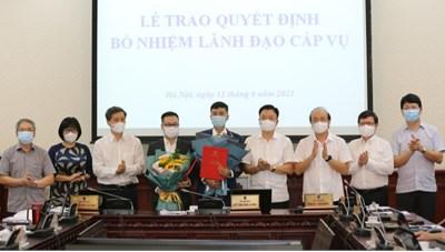 Báo Pháp luật Việt Nam có thêm 2 Phó Tổng Biên tập