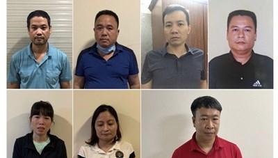 Bắt chủ nhà sách Minh Thuận và 6 người trong đường dây SGK giả tại Hà Nội