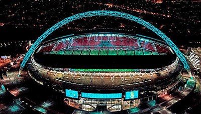 Sân vận động Wembley sẽ đón khoảng 60.000 CĐV vào xem EURO 2020