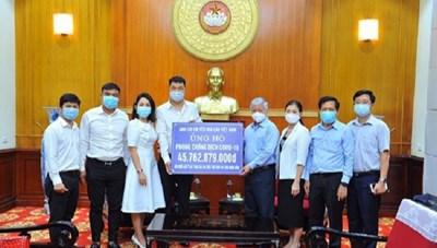 Danh sách các cơ quan, đơn vị, doanh nghiệp, tổ chức và cá nhân ủng hộ công tác phòng, chống dịch thông qua UBTƯ MTTQ Việt Nam