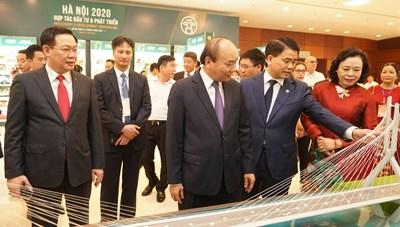 Thủ tướng dự Hội nghị xúc tiến đầu tư Thành phố Hà Nội