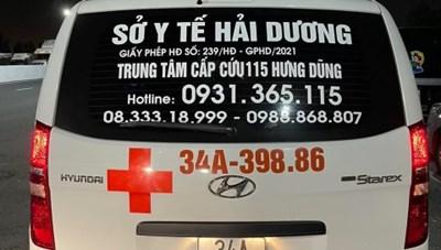 Quảng Ninh: Thuê xe cứu thương chở để 'thông' chốt