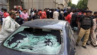 Xả súng kinh hoàng tại sàn giao dịch chứng khoán Pakistan, 6 người chết