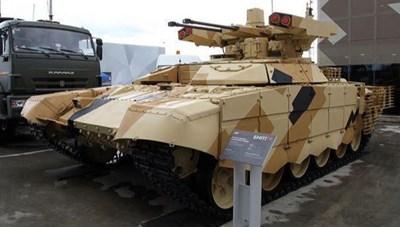 Quân đội Nga được trang bị mẫu xe chiến đấu mới