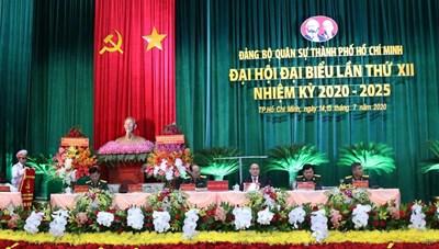 Đại hội Đảng bộ Quân sự TP Hồ Chí Minh lần thứ XII