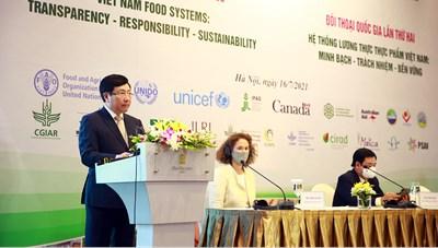 Xây dựng lộ trình chuyển đổi hệ thống lương thực thực phẩm