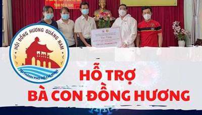 Quảng Nam, Quảng Ngãi chuyển 4 tỷ đồng giúp đồng hương ở TP HCM