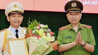 Phong hàm Thiếu tướng cho PGĐ Công an TP HCM Đinh Thanh Nhàn