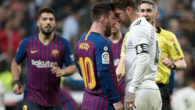 Động thái bất ngờ của Sergio Ramos với Messi