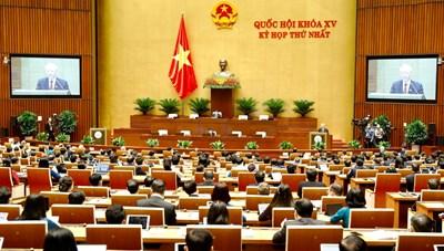 Kỳ họp thứ nhất, Quốc hội khóa XV: Xứng đáng với niềm tin của cử tri trao gửi