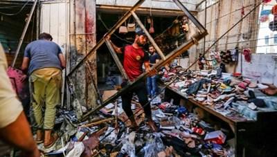 Iraq: Một vụ nổ lớn tại khu chợ đông đúc, nhiều thương vong