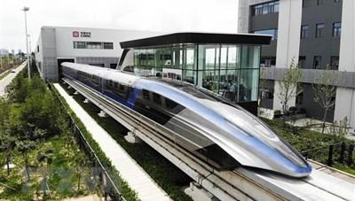 Trung Quốc ra mắt tàu đệm từ trường siêu tốc đầu tiên trên thế giới