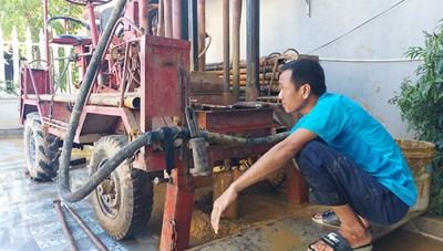 Hàng nghìn hộ dân lao đao vì thiếu nước