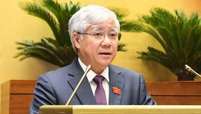 Quốc hội lắng nghe Báo cáo tổng hợp ý kiến, kiến nghị của cử tri và Nhân dân