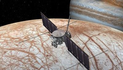 SpaceX sẽ đưa tàu lên khám phá Mặt trăng Europa của sao Mộc