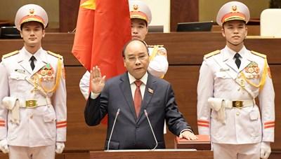 Hôm nay Chủ tịch nước, Thủ tướng, Chánh án tối cao tuyên thệ nhậm chức
