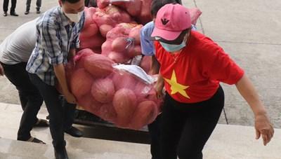 Bắc Giang: Nghĩa cử cao đẹp hướng về miền Nam chống dịch