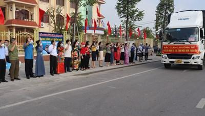 Bắc Giang ủng hộ các tỉnh phía Nam chống dịch