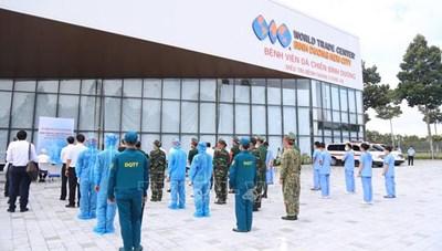 Bình Dương lập 4 bệnh viện dã chiến