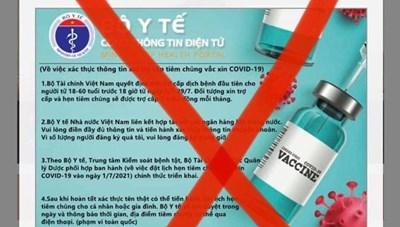Cảnh giác nhắn tin mạo danh Bộ Y tế lừa phát tiền trợ cấp Covid-19