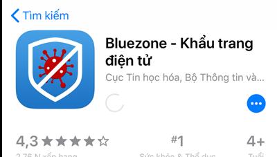 Khuyến nghị người dân cài ứng dụng Bluezone để cảnh báo người mắc Covid-19