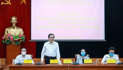 BẢN TIN MẶT TRẬN: Hội nghị sơ kết việc thực hiện Quy chế dân chủ ở cơ sở