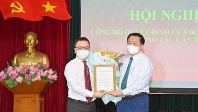 Ông Lê Quốc Minh kiêm nhiệm Phó Trưởng ban Tuyên giáo Trung ương