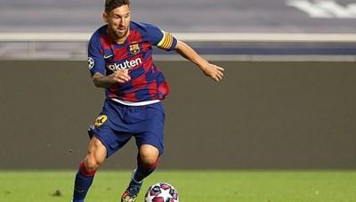 Báo giới Anh: 'Messi sẽ ký hợp đồng 5 năm với Man City'