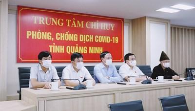 Đoàn ĐBQH tỉnh Quảng Ninh giám sát công tác phòng chống dịch Covid-19