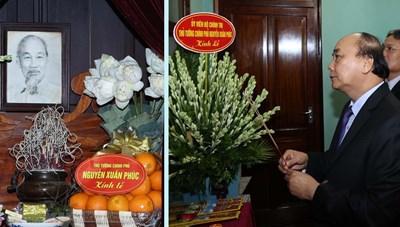 Thủ tướng Nguyễn Xuân Phúc dâng hương tưởng niệm Chủ tịch Hồ Chí Minh
