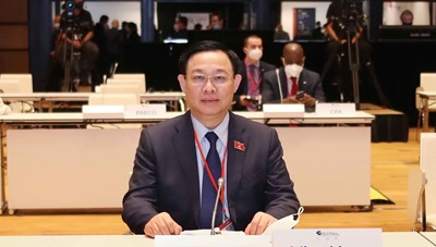 Toàn văn thông điệp của Chủ tịch Quốc hội Vương Đình Huệ gửi WCSP5