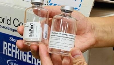 WHO tài trợ khẩn cấp 10 liều thuốc kháng độc tố Botulinum cho Việt Nam
