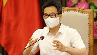 Phó Thủ tướng yêu cầu làm một ứng dụng duy nhất phục vụ chống dịch