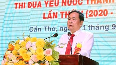 BẢN TIN MẶT TRẬN; Chủ tịch Trần Thanh Mẫn dự Đại hội Thi đua yêu nước TP Cần Thơ lần thứ V