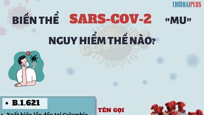 [Infographic] Biến thể SARS-CoV-2 MU nguy hiểm thế nào?