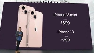 Giá bán là 'vũ khí' mạnh nhất của iPhone 13