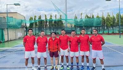 Tuyển quần vợt Việt Nam thăng hạng lên nhóm II Davis Cup năm 2022