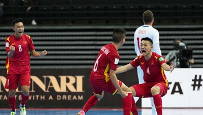 Thành tích futsal Việt Nam đứng thứ 3 châu Á, ngang Nhật Bản ở World Cup