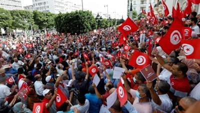 Biểu tình lớn ở Tunisia chống lại Tổng thống Kais Saeed