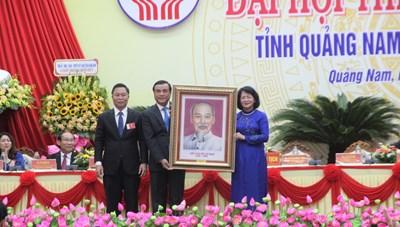 Phó Chủ tịch nước dự Đại hội thi đua yêu nước tỉnh Quảng Nam