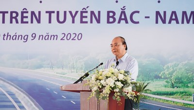Thủ tướng Nguyễn Xuân Phúc: Phải có ít nhất 5.000 km cao tốc