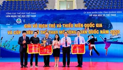 Giải vô địch trẻ, thiếu niên khiêu vũ thể thao mở rộng toàn quốc
