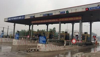Đề xuất dừng thu phí trạm BOT Nội Bài - Vĩnh Yên từ 0h ngày 14/10