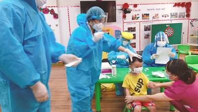Bắc Ninh:Chùm Covid-19 tăng lên 26 ca, trong đó có 8 trẻ em